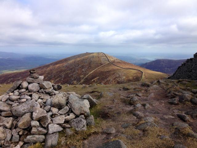 42 Summit of Meelbeg looking towards Meelmore