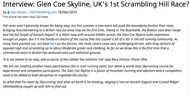 Glen Coe UKC